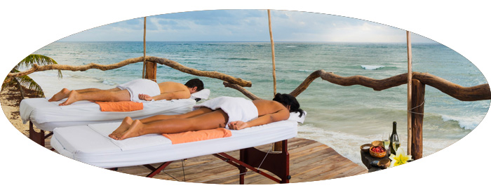 Azulik massage oval