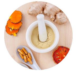 Herbal medicine round