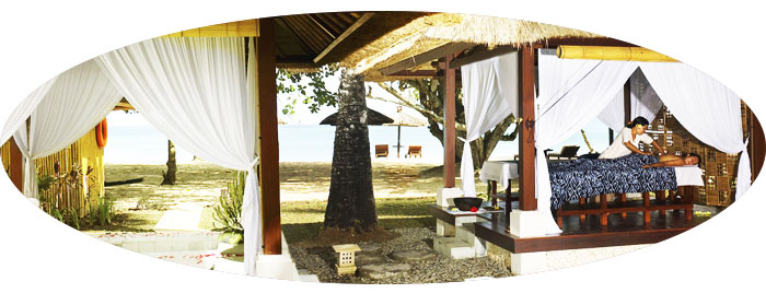 Jimbaran Puri beach spa
