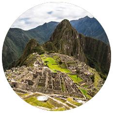 Machu Picchu round