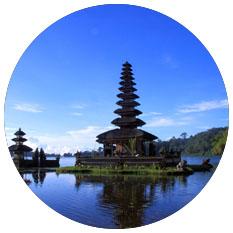 bali indonesia round